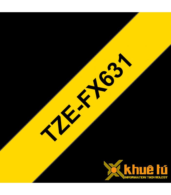 Băng nhãn in TZe-FX631 | Nhãn Cho Máy Brother | khuetu.vn