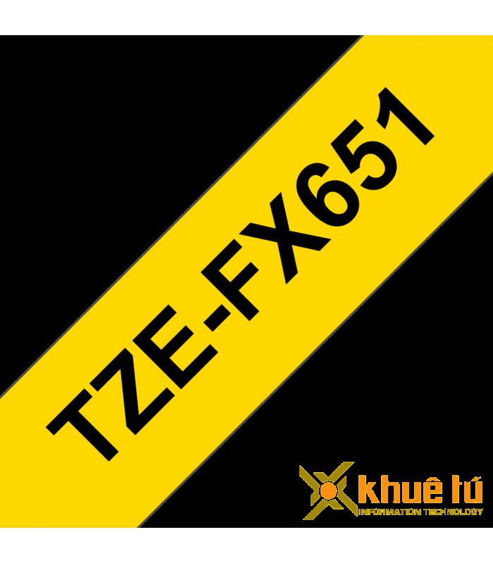 Băng nhãn in TZe-FX651 | Nhãn Cho Máy Brother | khuetu.vn