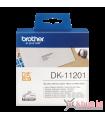 Băng nhãn in Brother DK-11201, 29mm x 90mm x 400 nhãn, nhãn bế, giấy decal | Nhãn DK | khuetu.vn