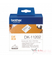 Băng nhãn in Brother DK-11202, 62mm x 100mm x 300 nhãn, nhãn bế, giấy decal | Nhãn DK | khuetu.vn