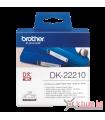Băng nhãn in DK-22210, 29mm x 30.48m, nhãn liên tục, giấy decal | Nhãn DK | khuetu.vn