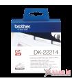 Băng nhãn in DK-22214, 12mm x 30.48m, nhãn liên tục, giấy decal | Nhãn DK | khuetu.vn