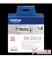 Băng nhãn in DK-22212, 62mm x 15.24m, nhãn liên tục, nhãn film chống nước | Nhãn DK | khuetu.vn