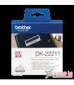 Băng nhãn in DK-22211, 29mm x 15.24m, nhãn liên tục, nhãn film chống nước | Nhãn DK | khuetu.vn