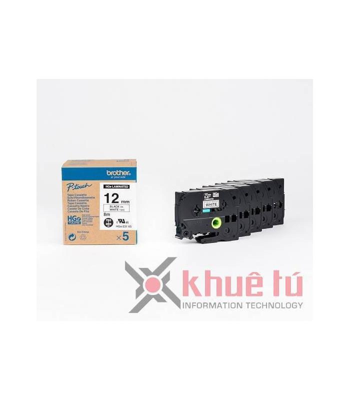 Băng nhãn in HGe-231V5 | Nhãn HGe | khuetu.vn