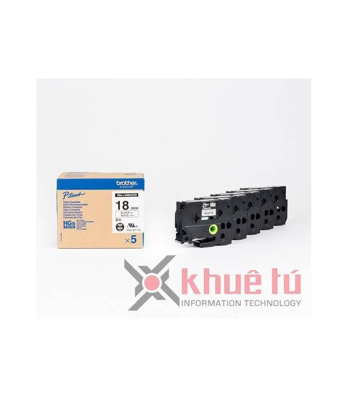 Băng nhãn in HGe-241V5 | Nhãn HGe | khuetu.vn
