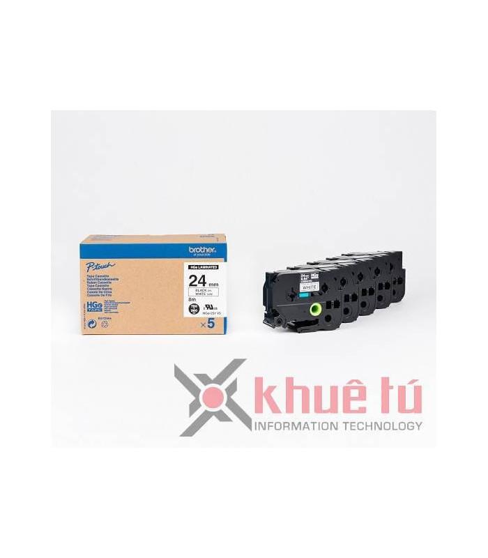 Băng nhãn in HGe-251V5 | Nhãn HGe | khuetu.vn