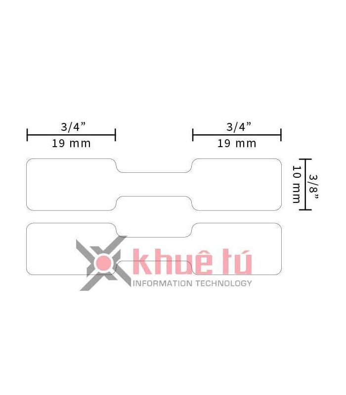 Băng nhãn in DM-A11351, Black on White, 11mm x 54mm x 1500 labels | Nhãn Cho Máy Dymo | khuetu.vn