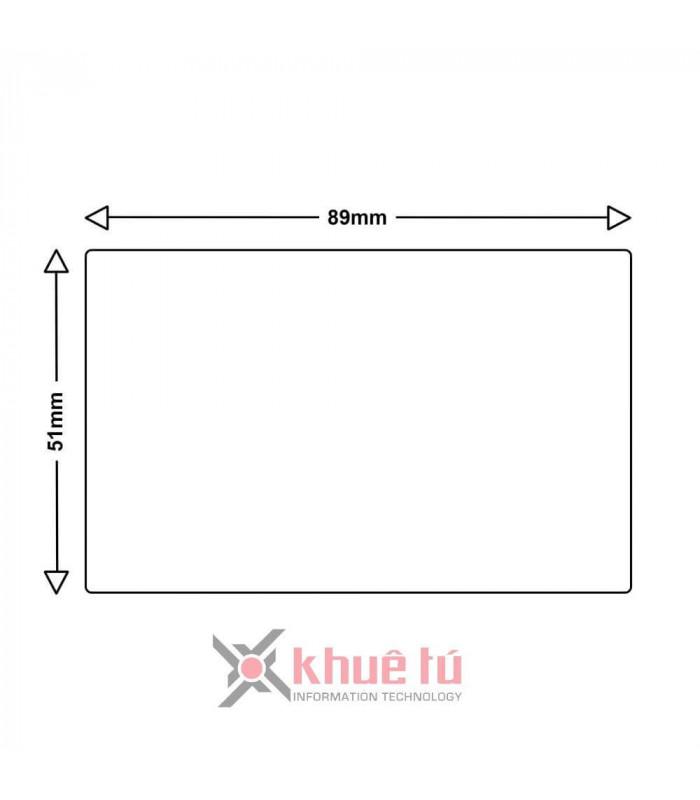 Băng nhãn in DM-AS0929100, Black on White, 51mm x 89mm x 300 Labels | Nhãn Cho Máy Dymo | khuetu.vn