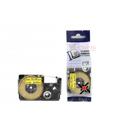HR-6YW (Black on Yellow, 6mm)