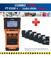 Combo: PT-E500 + 5 Cuộn nhãn 18mm | Máy in nhãn Brother | khuetu.vn