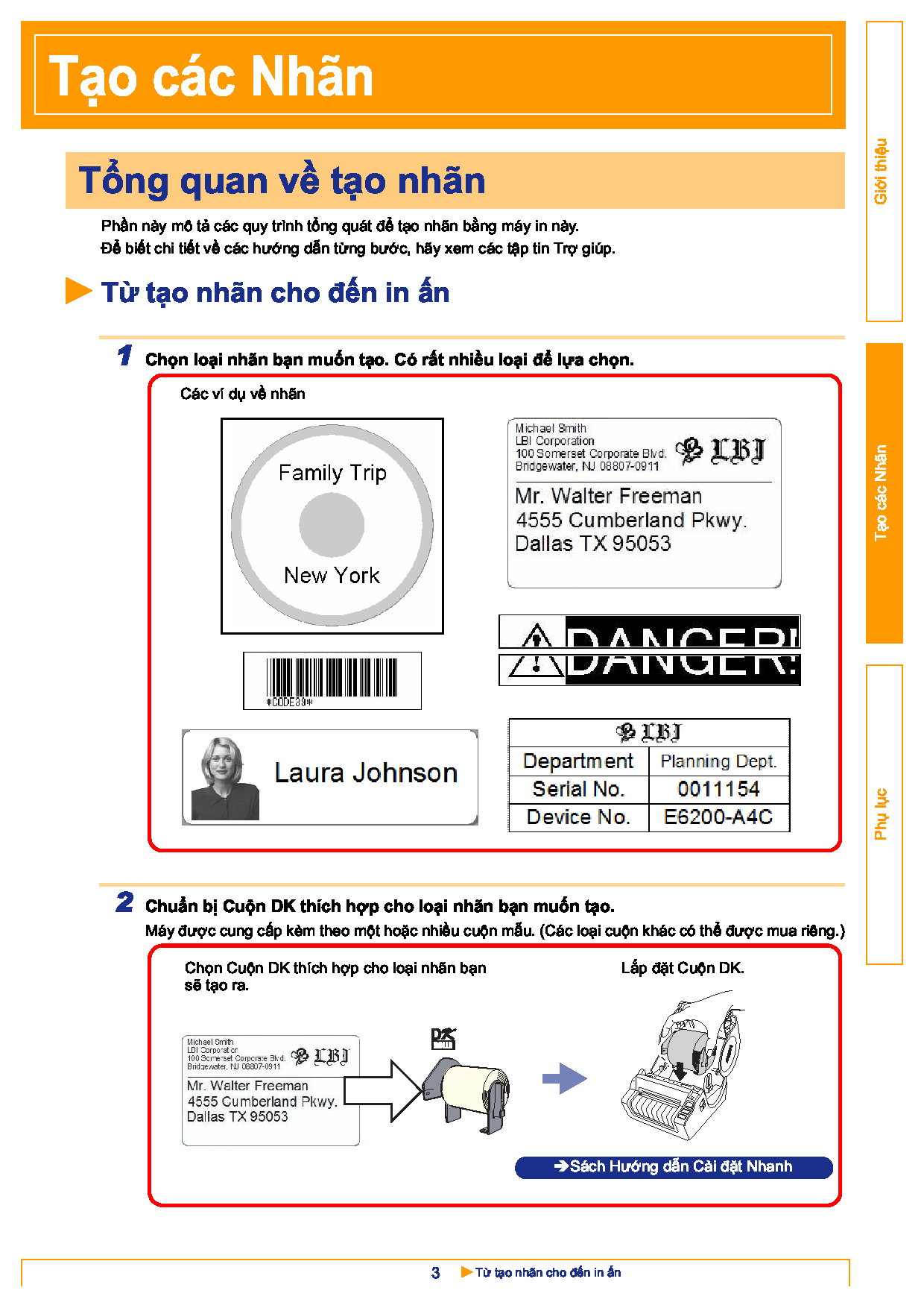 Hướng dẫn sử dụng phần mềm thiết kế, tạo mẫu nhãn P Touch Editor