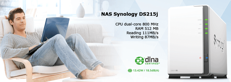 Synology DS215j – tối ưu hóa hiệu suất và chi phí