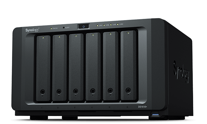 DS1618+ NAS Synology 6-bay HDD