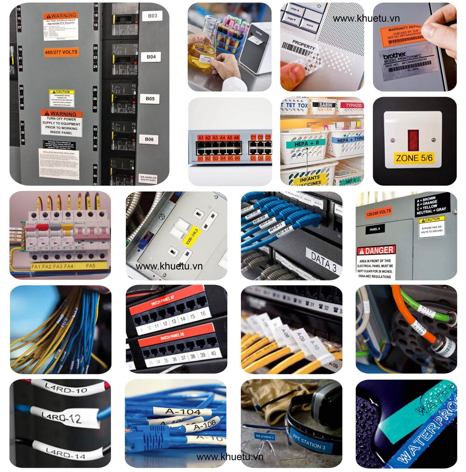 Máy in nhãn cầm tay - Giới thiệu chung và Cách lựa chọn các dòng máy in nhãn Brother