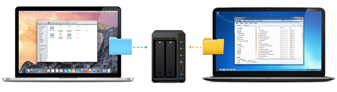 Desktop backup Synology