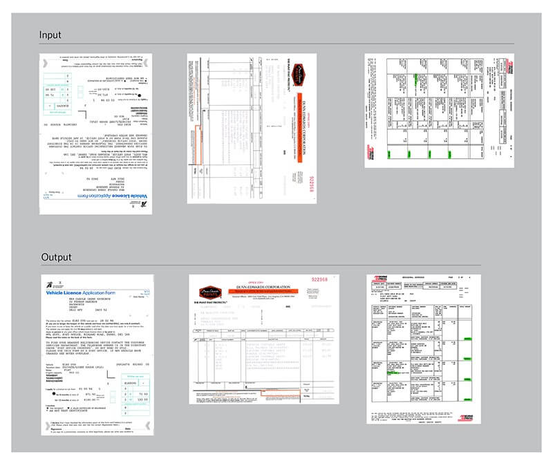 Công nghệ xử lý ảnh Perfect Page trong máy scan Kodak