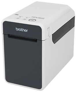 Brother™ TD-2130N Complete powered network desktop thermal printer